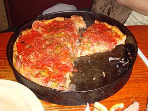 Pizzeria Uno pizza