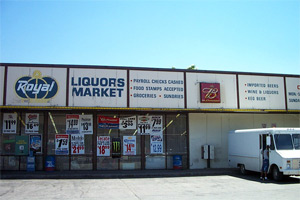 Downtown Kansas City Liquor Stores