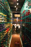 Venice wine cellar