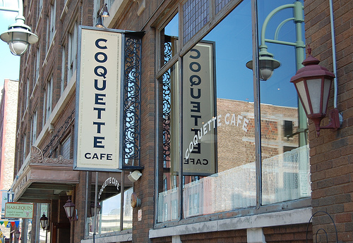 Coquette cafe front
