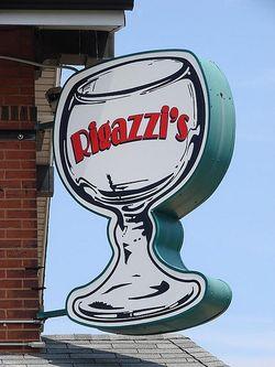 Rigazzi's sign