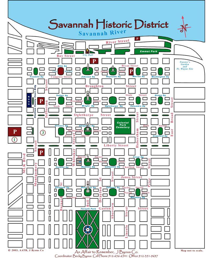Savannah Map
