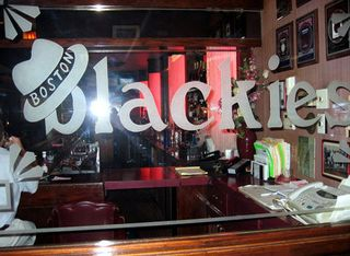 Boston Blackies glass