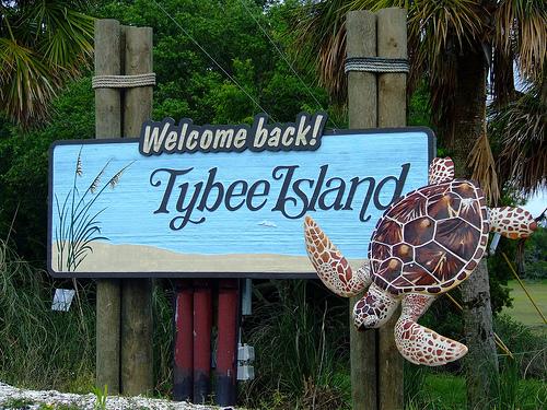 Tybee Island Sign