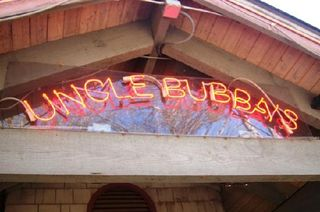 Uncle bubba's sign