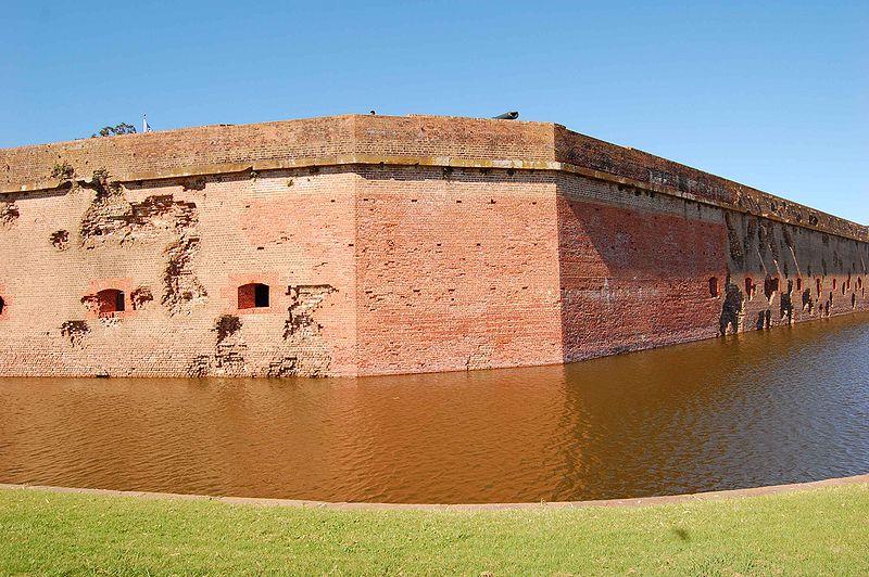 Fort Pulaski Wall