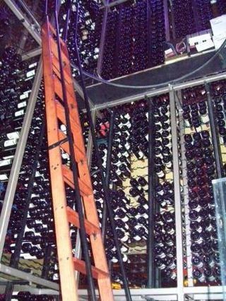 Fogo wine cellar