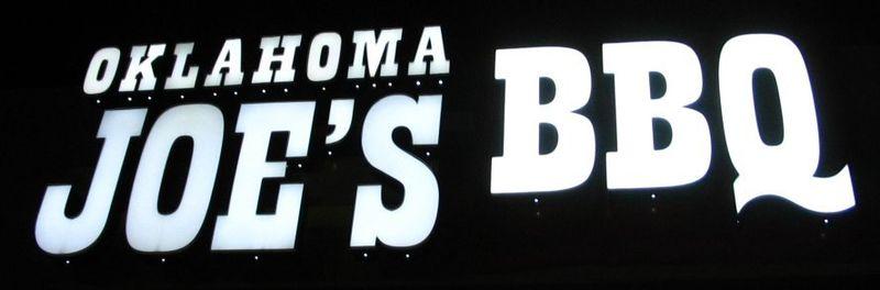 Oklahoma joes sign 2
