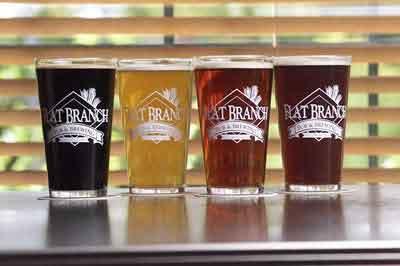 Flat branch beers