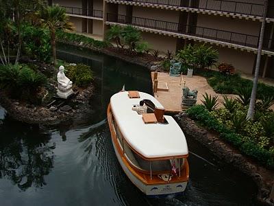 Hilton boat