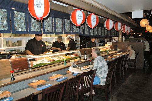 Sansei Sushi bar
