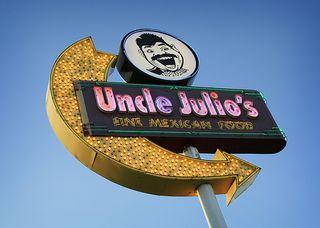 Uncle julio's sign
