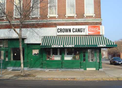 Crown Candy front