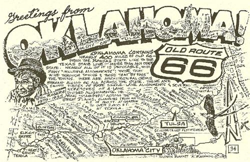 Bob Waldmire Oklahoma