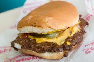 Schoop's burger