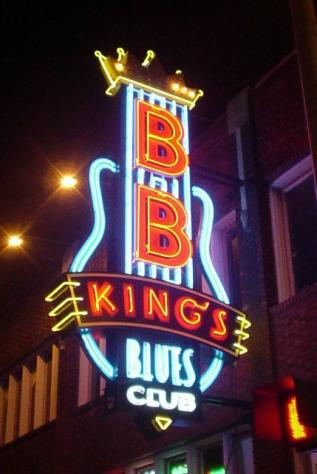 B.B. Kings sign