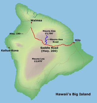 Road Tips Hawaii Big Island - Road map of hawaii