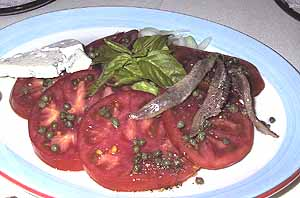Merriman's Tomatoes and capers