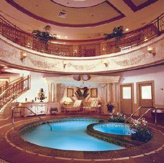 Spa grande tub