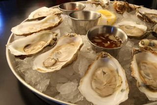 Maxie's oysters