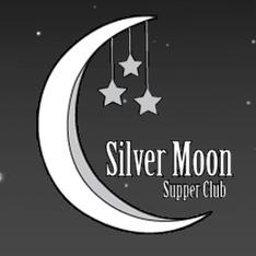 Silver moon logo