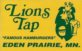 Lions tap logo