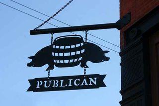 Publican sign