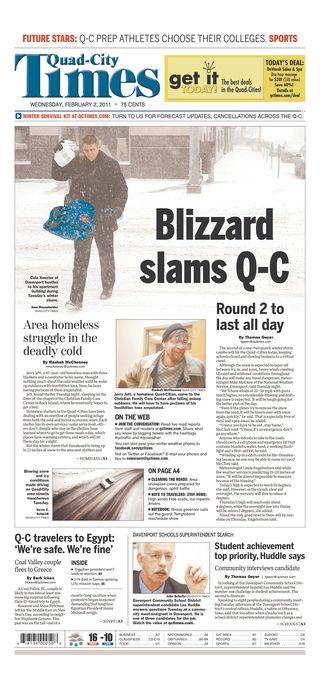 QC Times Feb 2
