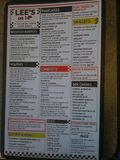 Lee's on 14th menu