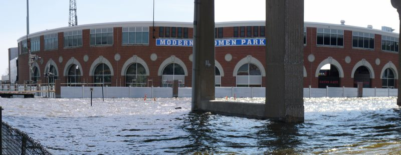 Modern Woodmen Park Flood