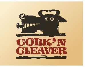 Cork 'n cleaver logo
