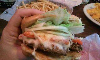 Louie M burger