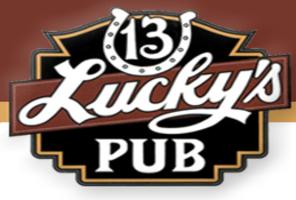 Luckys 13 logo