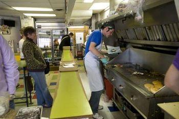 Blimpy Burger grill