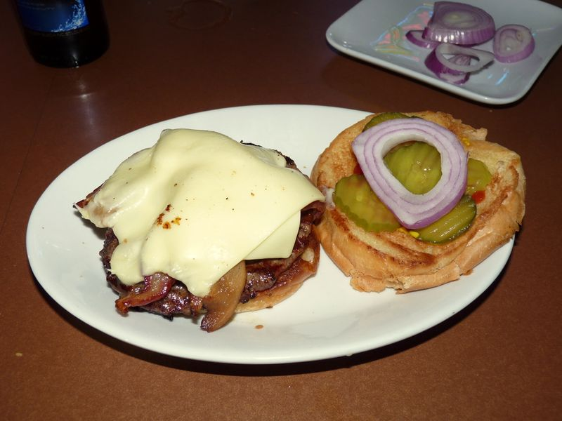 Creekside burger
