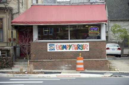 Blimpy Burger front