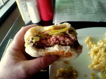 Oddfellows burger