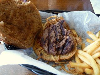 Nitty Gritty burger