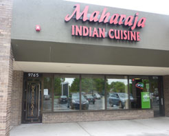 Maharaja outside