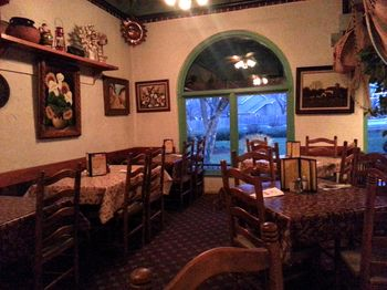 It Was Around 7 30 When I Got Into La Campana There No Wait To Get A Table The Hostess Took Me Small Elevated Dining Area That Featured Mexican