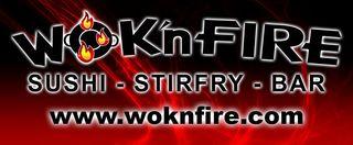 Wok 'n fire logo