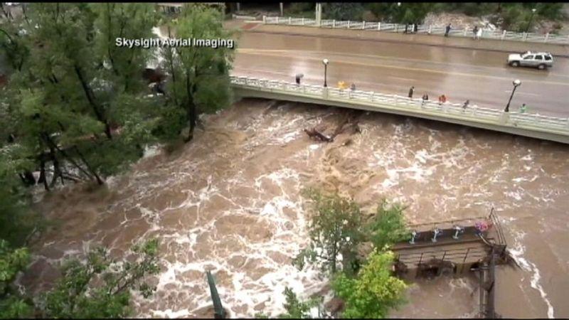 Boulder Creek Flood