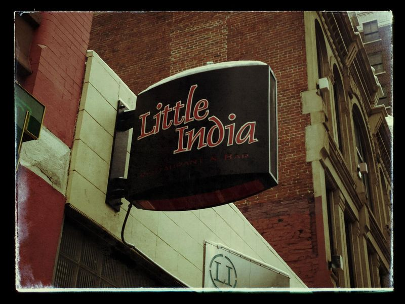 Little India sign