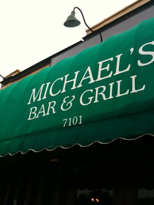 Michaels bar and grill front