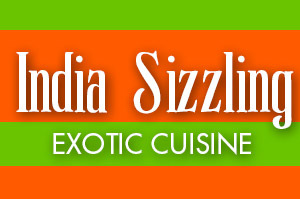 India sizzling logo