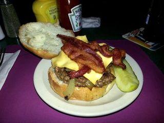 House of Coates burger