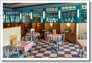 Convention grill dining room