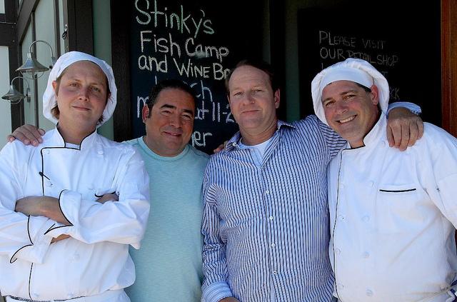Stinky's chefs w_Emeril 30aeats