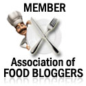 Food blogger logo