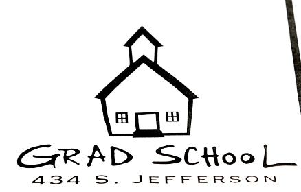 Grad school logo